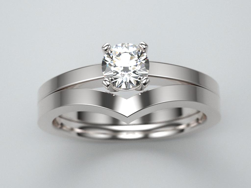 solitaire diamant et bague de fiançailles bijouterie Thomas H