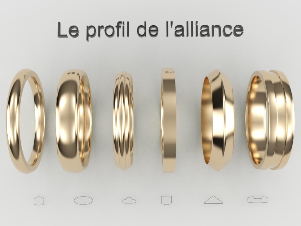 Alliances bijouterie Thomas H
